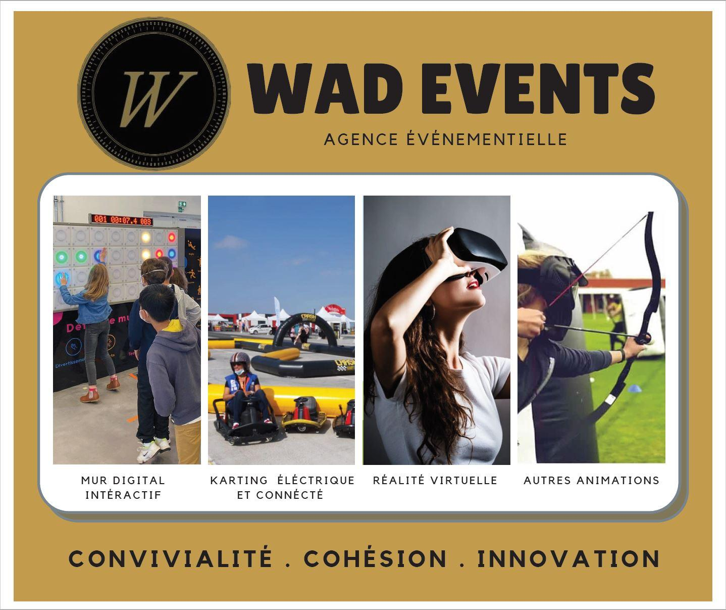 Plaquette wad events